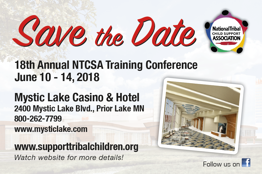 2018 NTCSA SAVE THE DATE IMAGE